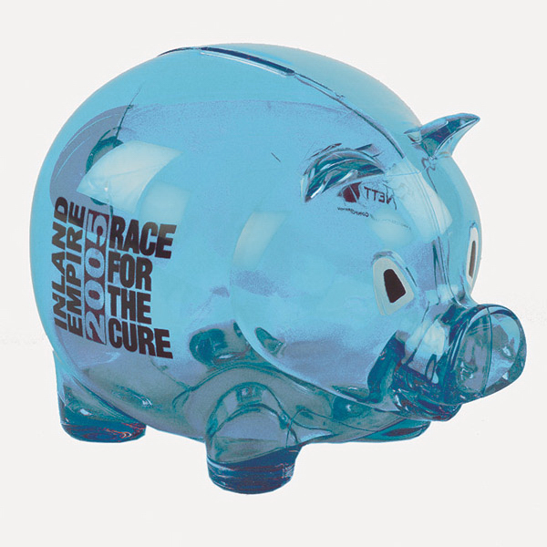Imprinted Piggy Bank