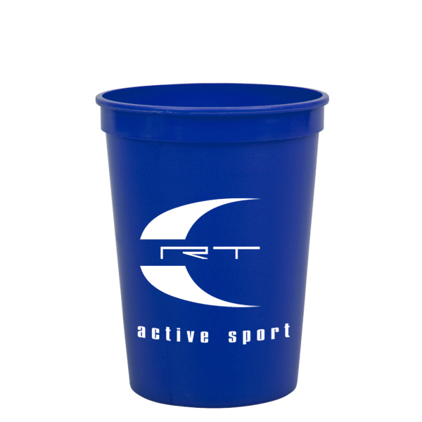 Custom Cups-On-The Go 12 oz Stadium Cups Solid Colors