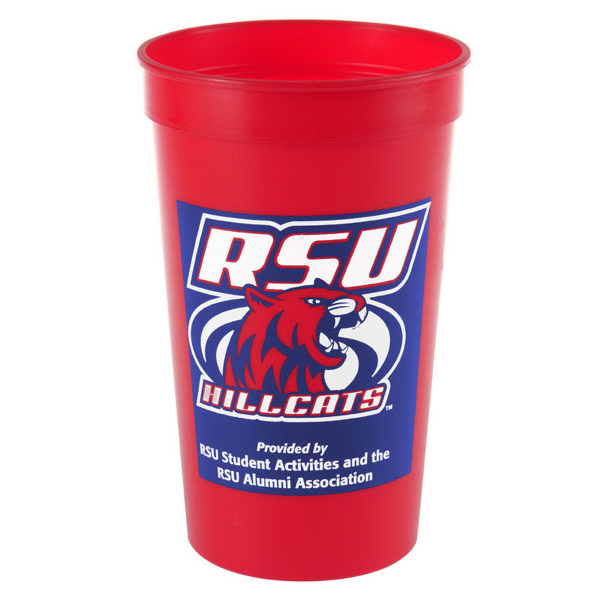 Promotional Cups-On-The-Go 20 oz Stadium Cups Solid Colors