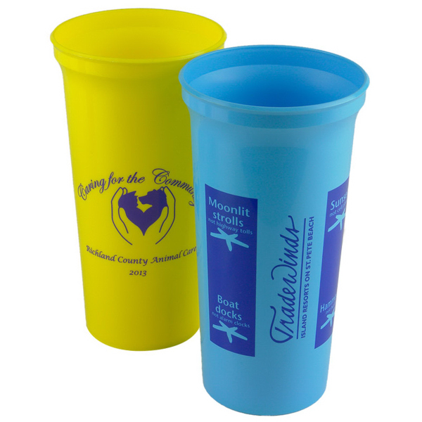 Printed Super Size 32 oz Stadium Cup