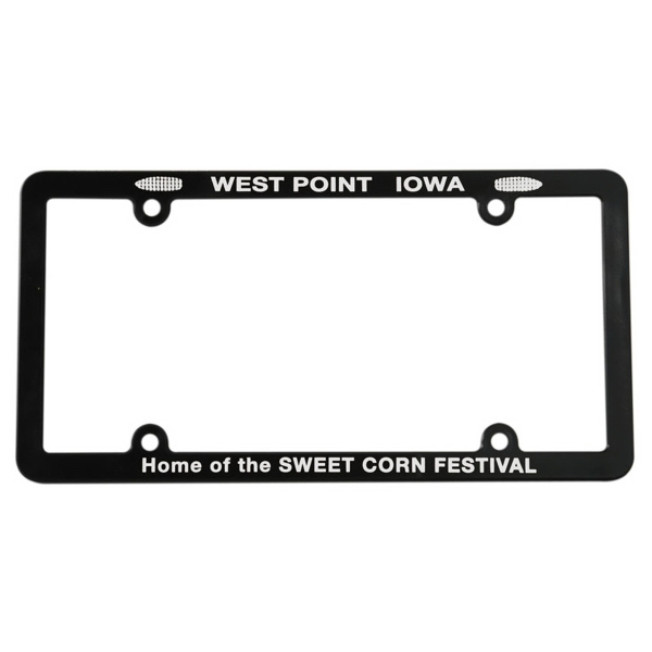 Personalized Full View License Plate Frame