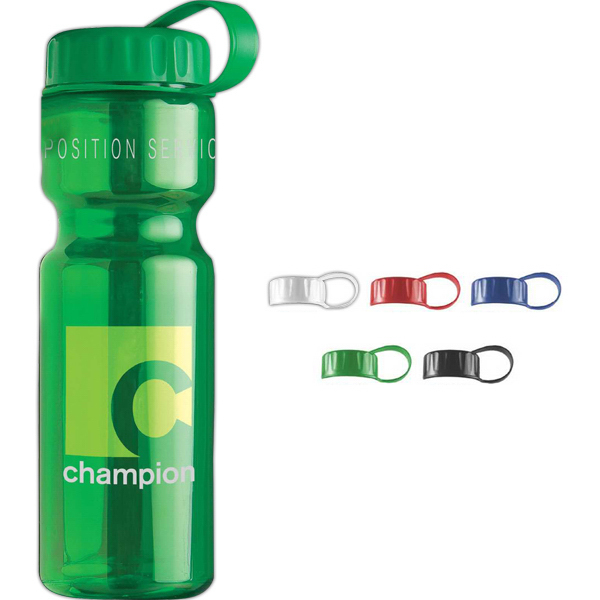 Custom The Olympian 28 oz Transparent Bottle