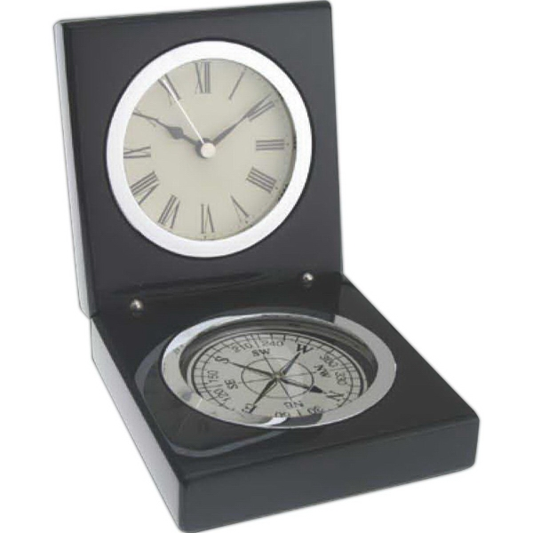 Customized Magellan Compass And Clock