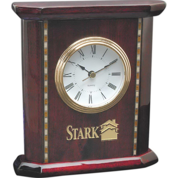 Promotional Exquisite rosewood clock