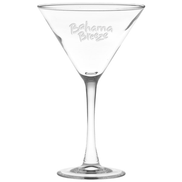 Custom Manhattan Martini Glass