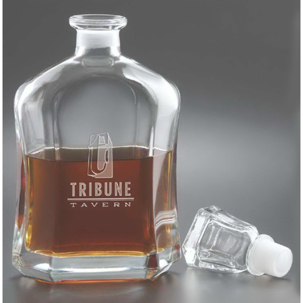 Promotional Capital Decanter
