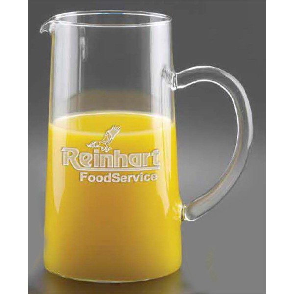 Custom Pitcher with handle, 44 oz