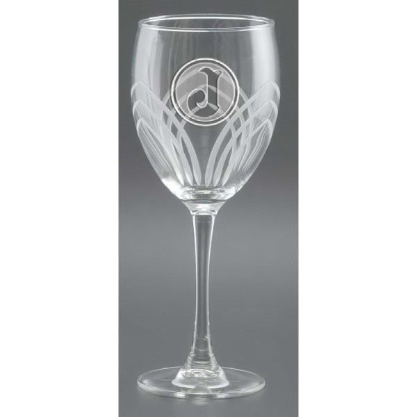 Customized Arches Cut Goblet Glass - Set of 4