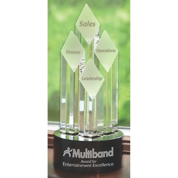 Promotional Majestic Diamond Tower Award