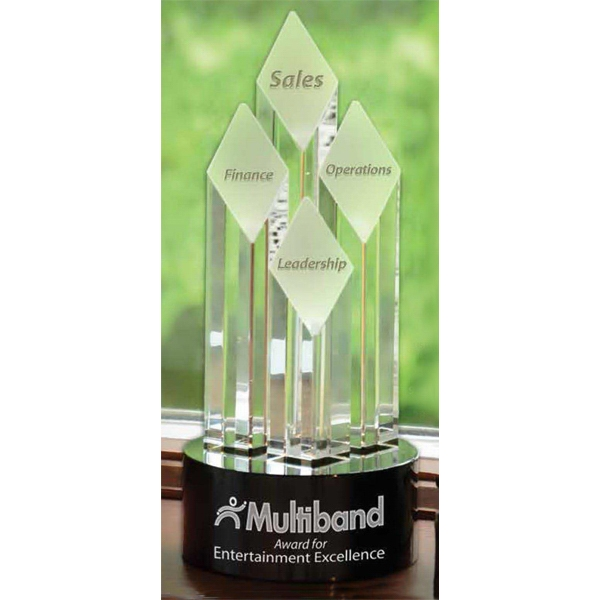 Personalized Small Majestic Diamond Tower