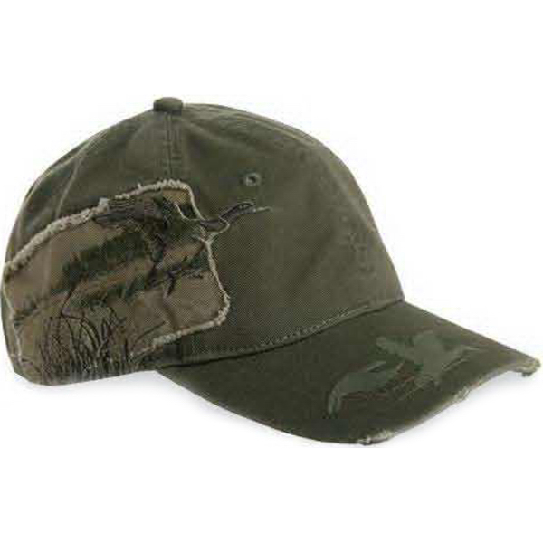 Printed Dri Duck Mallard Applique Cap