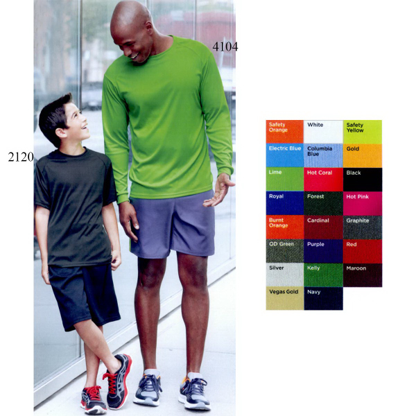 Promotional Badger Youth B-Dry Core T-Shirt with Sport Shoulders