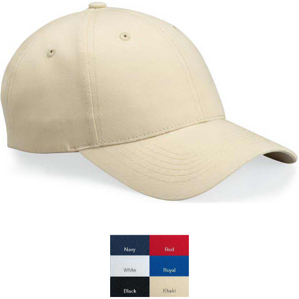 Personalized Sportsman Cotton Twill Cap with Velcro (R) Closure