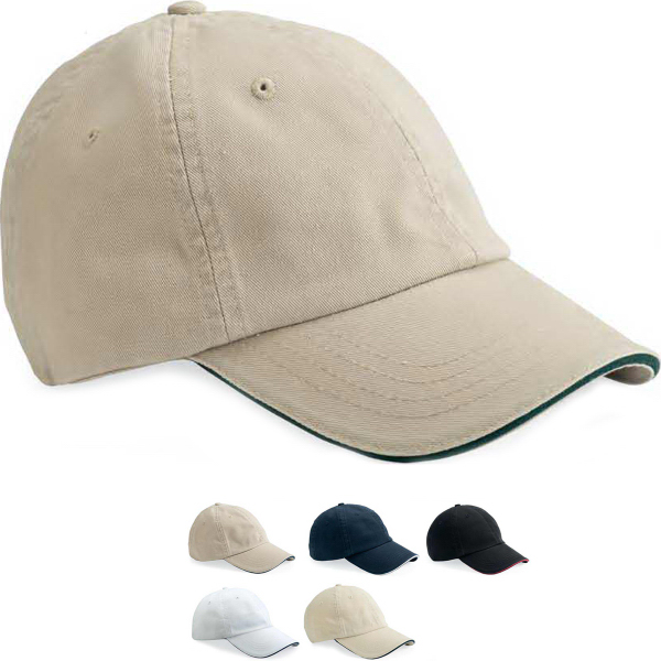 Printed Bayside Unstructured Twill Cap