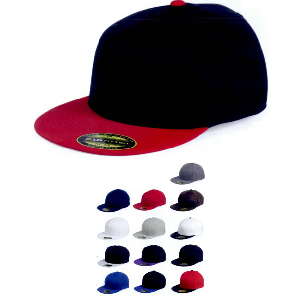 Promotional Flexfit Flat Bill Cap