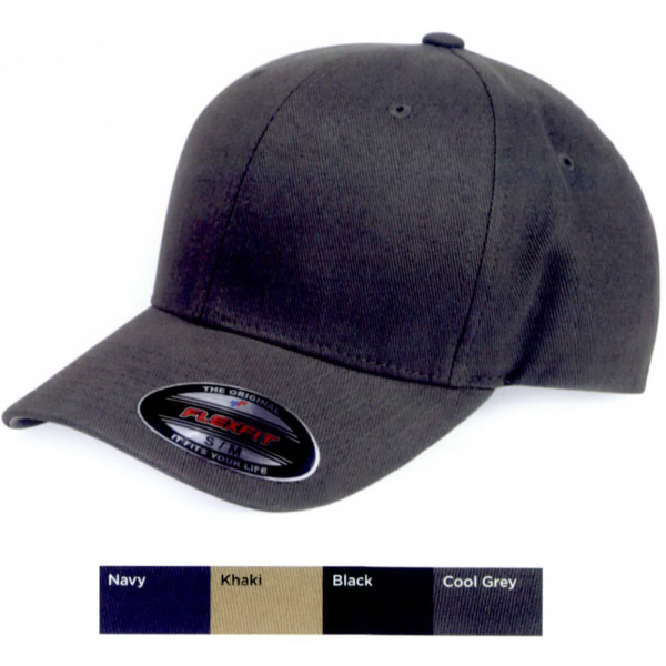 Printed Flexfit Structured Brushed Twill Cap