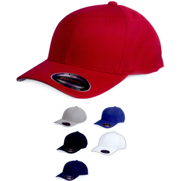 Promotional Flexfit Cool and Dry Pique Mesh Cap