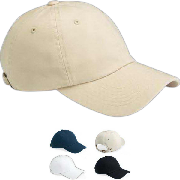 Personalized Sportsman Bio-Washed Twill Cap