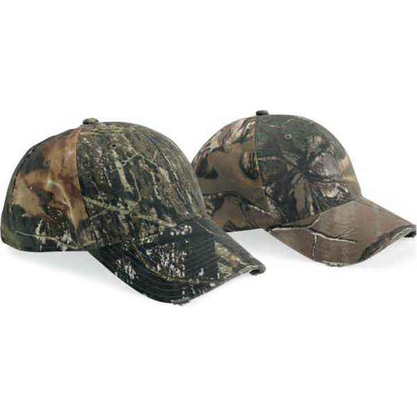 Promotional Outdoor Cap Torn Visor Low-profile Camouflage Cap