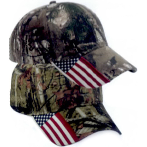 Personalized Outdoor Cap With Flag