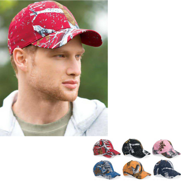 Imprinted Outdoor Cap Dominant DNA Camo Cap