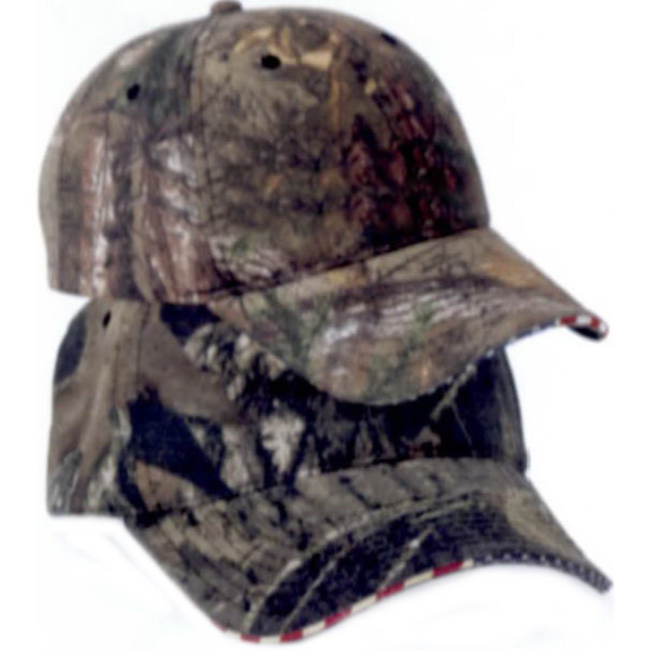 Printed Outdoor Cap Flag Camouflage Cap