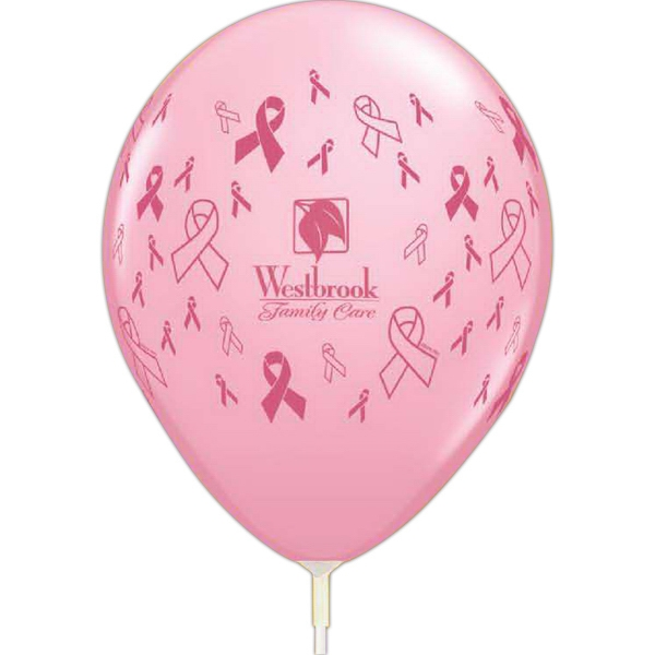 "Custom 11"" AdWrap (R) Jewel/Fashion Latex Balloons"