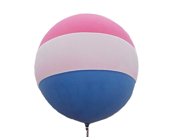 Custom 5 1/2 Foot Tri-Tone Cloudbuster (TM) Balloon