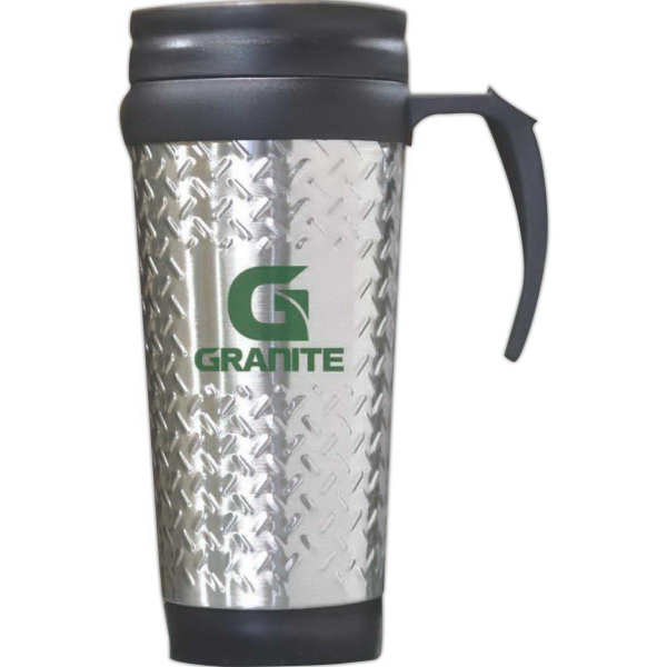 Promotional Steel City Tool Box Design Travel Mug