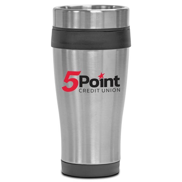 Custom Black Steel City Trim Mates Tumbler