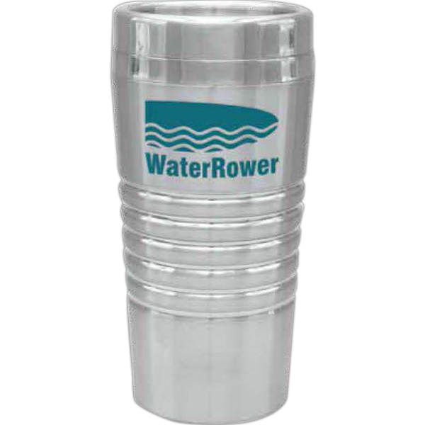 Customized Steel City Double Wall Banded Tumbler