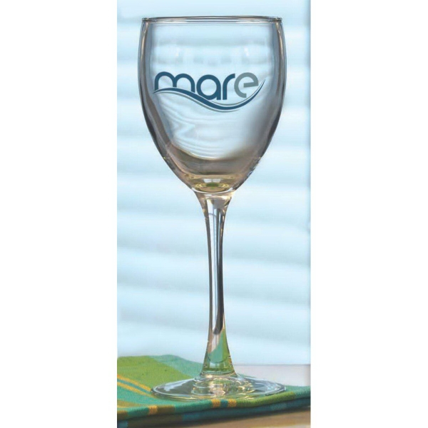 Printed Montego Wine Glass