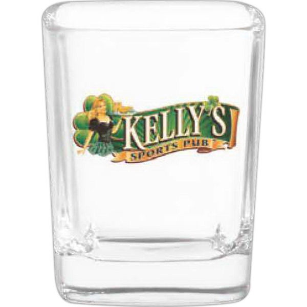 Customized Square Shot Glass