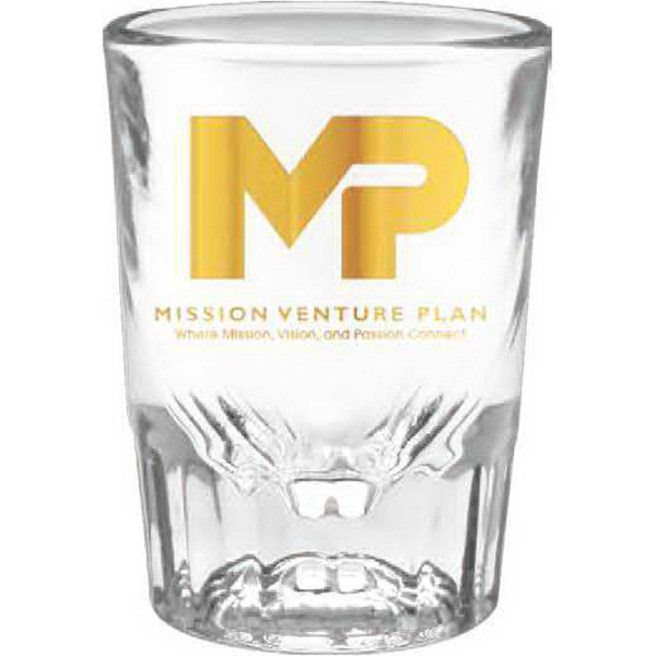 Customized Fluted Shot Glass