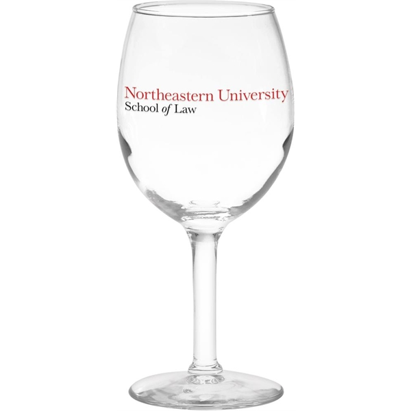 Imprinted White Wine Glass