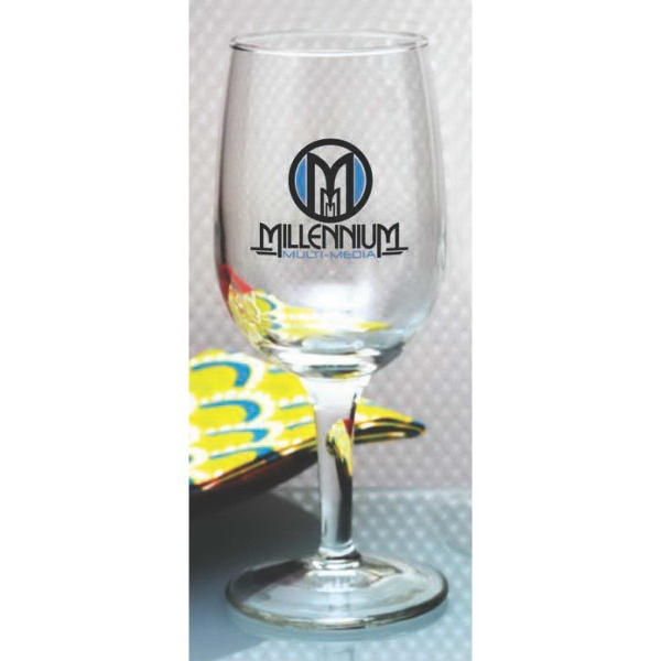 Custom Tall Wine Glass