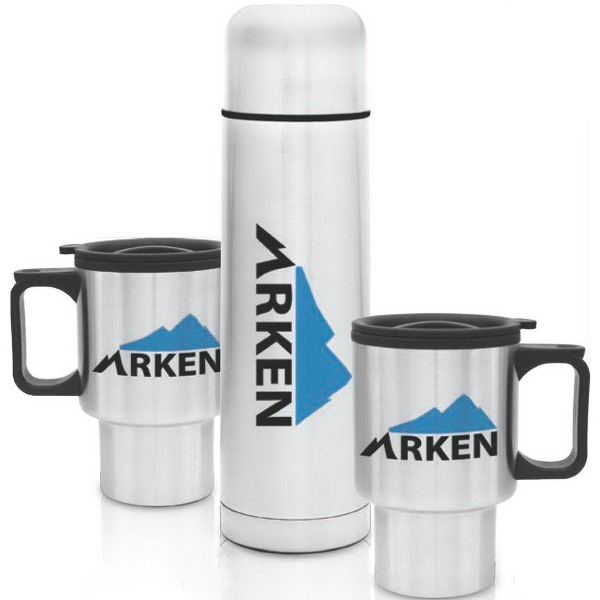 Customized Three Piece Steel City Beverage Set