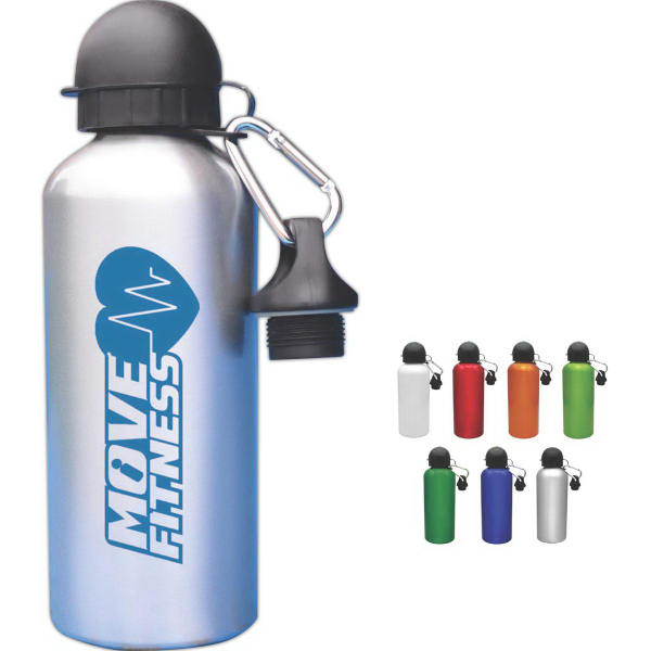Imprinted Aluminum Cyclist Collection Water Bottle