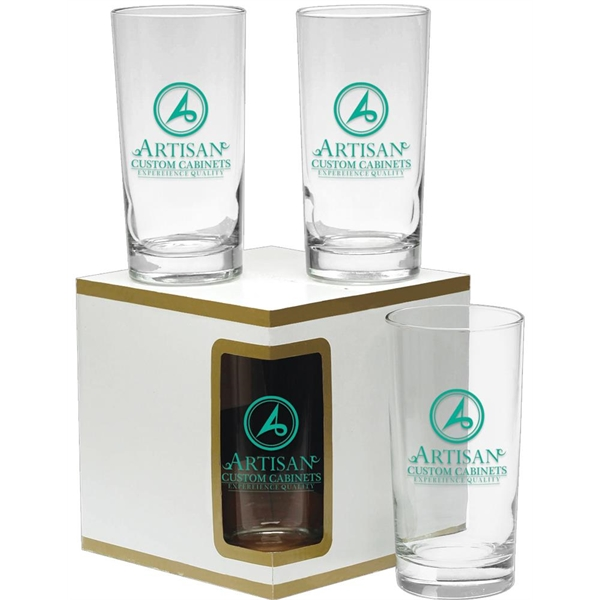 Promotional Premium Set of 4 Deluxe Beverage Glasses