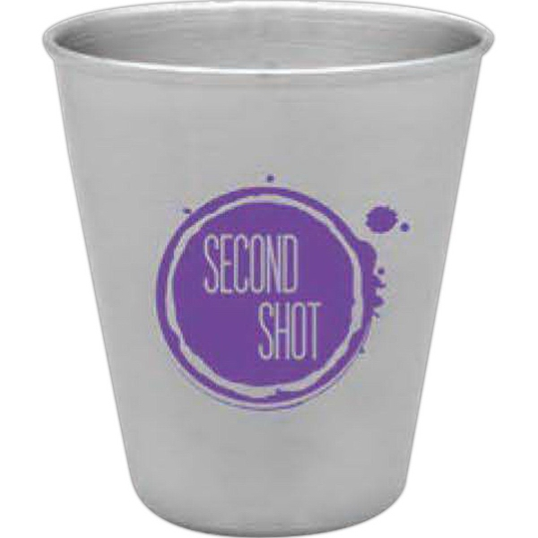 Personalized Steel City Stainless Shot Glass