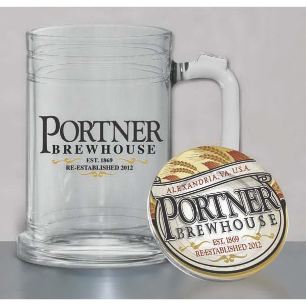 Personalized Maritime Glass Tankard