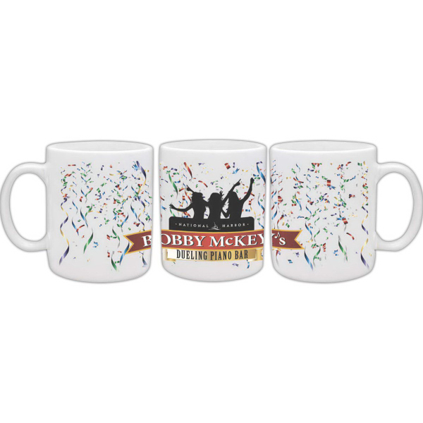 Personalized White Hampton Mug with Full Color Sublimation