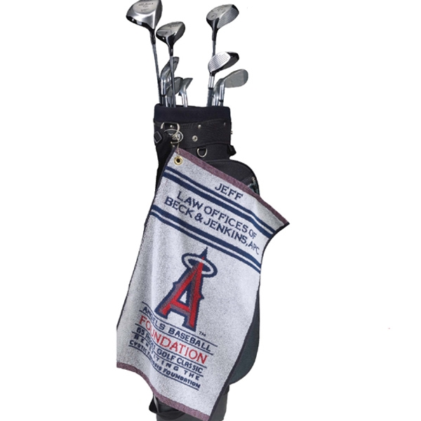 Printed Terry Golf/Bar Mop Towel