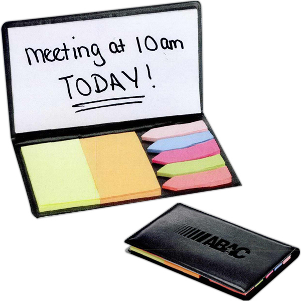 Printed Slimline Sticky Memo Holder