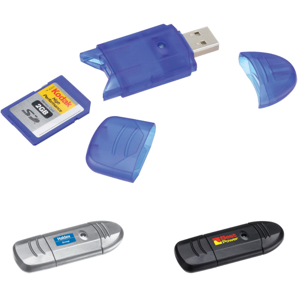 Imprinted 6-in-1 card reader