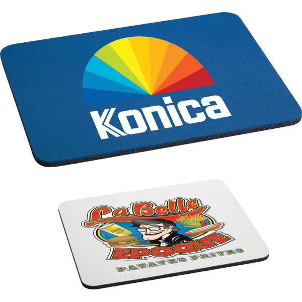 "Customized 1/4"" Rectangular Mouse Pad"
