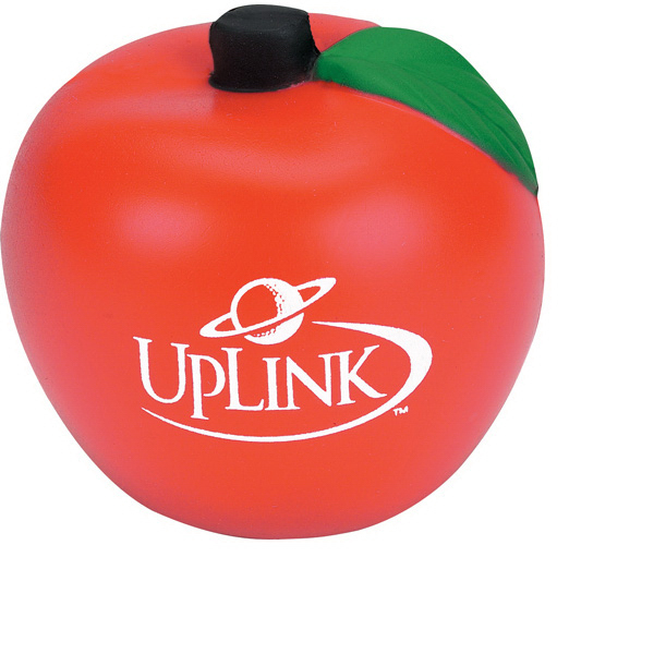 Imprinted Apple Stress Reliever