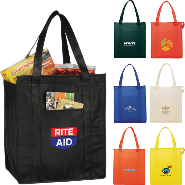 Printed Non Woven Insulated Hercules Tote