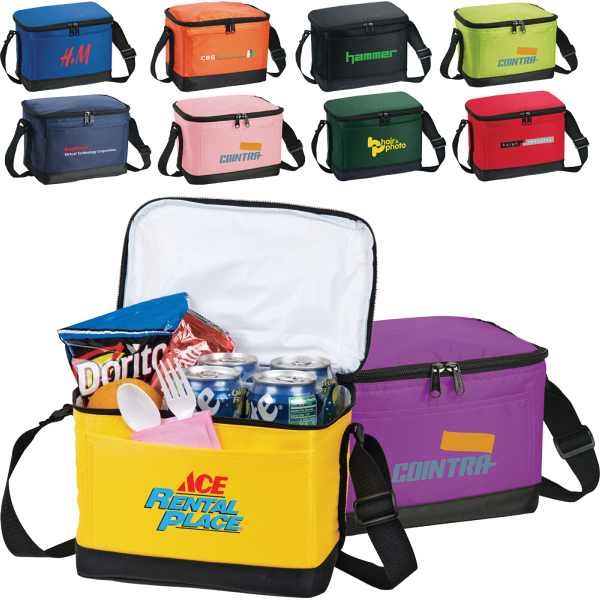 Personalized Out To Lunch 6-Pack Lunch Bag