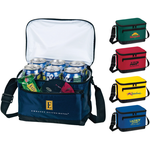 Printed Deluxe 6-Pack Insulated Bag